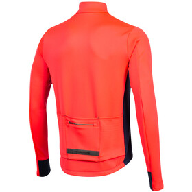 PEARL iZUMi Interval Thermal LS Jersey Men atomic red/navy